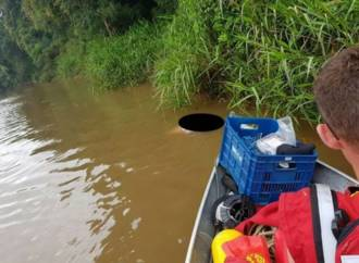Bombeiros de Mafra encontram corpo do homem que se afogou no rio Negro 6510b69c9c